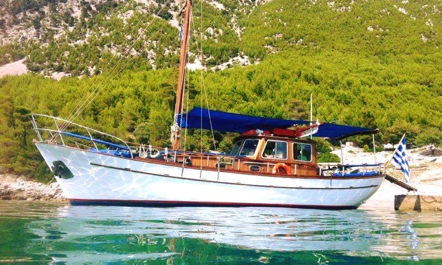 Charter 39' Phaedra Gulet in Chalcis, Greece