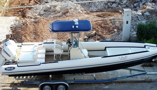 Charter Falcon 860 Rigid Inflatable Boat In Glifada, Greece
