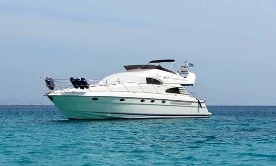 Charter A Motor Yacht In Dhodhekanisos, Greece