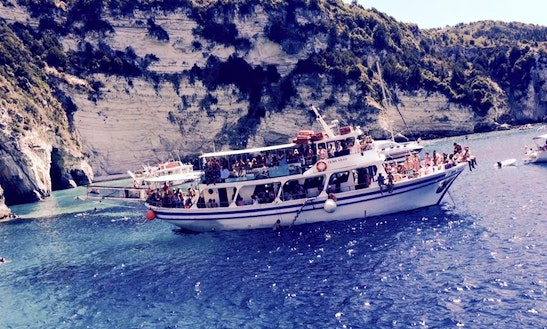 Charter Gaios Passenger Boat In Parga, Greece