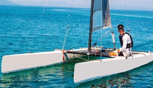 Rent 18' Catamaran A Class Beach Catamaran In Medulin, Croatia