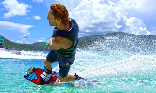 Enjoy Wakeboarding In Virgin Gorda, British Virgin Islands