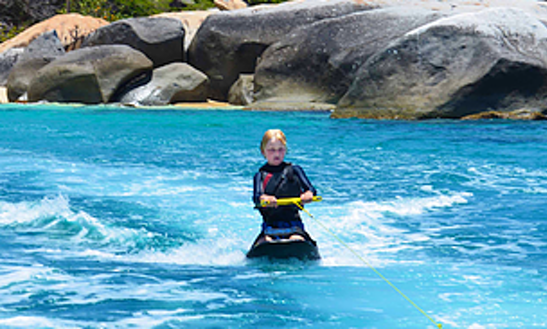 Enjoy Knee Boarding In Virgin Gorda, British Virgin Islands
