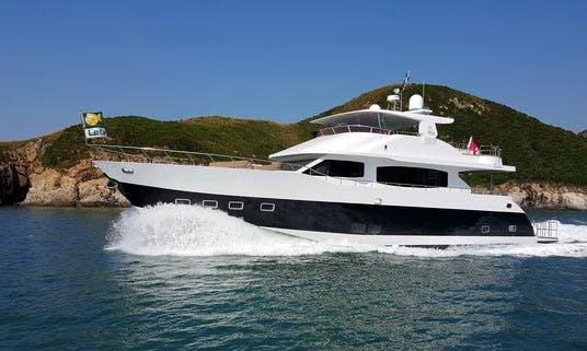Charter 85' Elephant Power Mega Yacht in Hong Kong Island