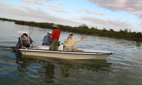 Enjoy Fishing In North Andros, The Bahamas On A Dinghy