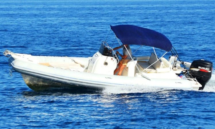 Colbac RIB, available in all Ionian Islands