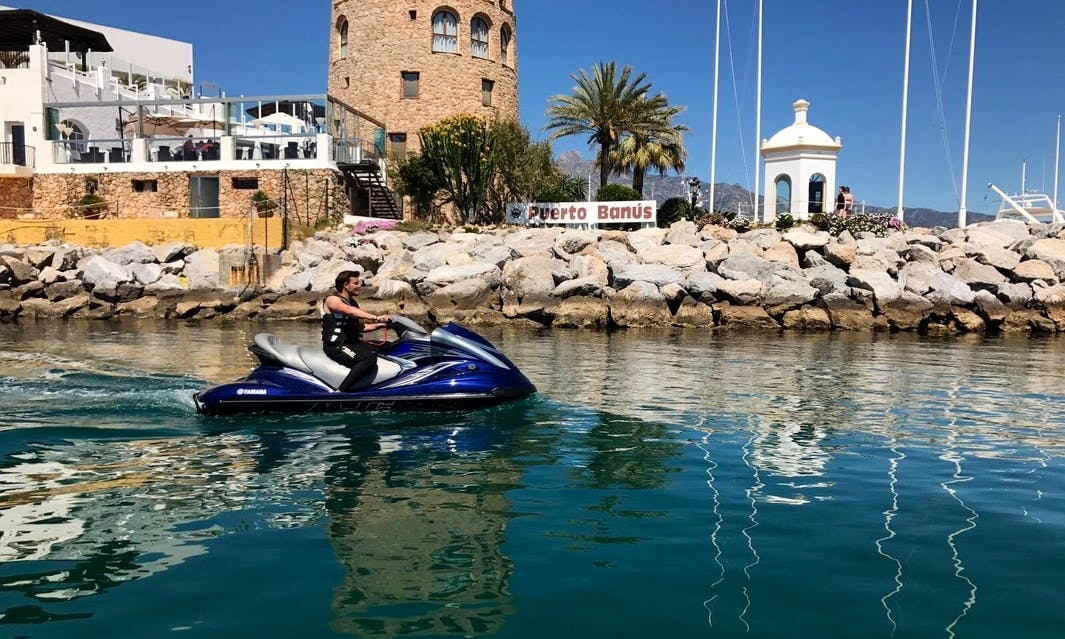 An amazing Jet Ski rental experience in Marbella, Andalucía