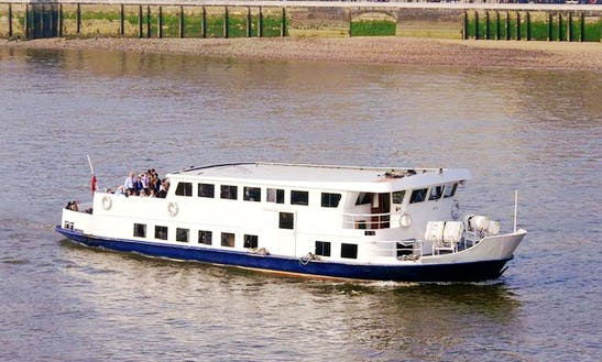Hire The Mv Golden Sunrise Party Boat In London, England