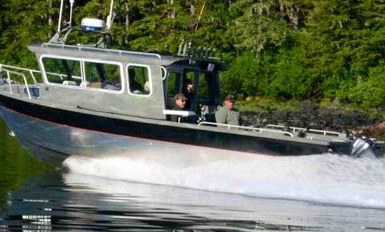 28' Sport Fisherman Charter In Kupreanof, Alaska