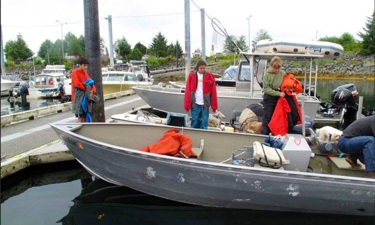 Discover Sitka, Alaska on 17' Skiff Boat with Jim