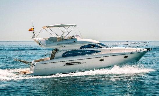 Charter 40' Astondoa 40 Motor Yacht In Marbella, Spain