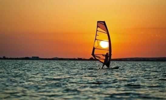 Enjoy Windsurfing In Dubai, United Arab Emirates