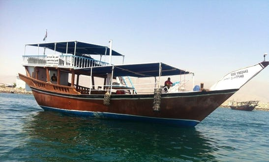 Charter A Passenger Boat In Fujairah, United Arab Emirates
