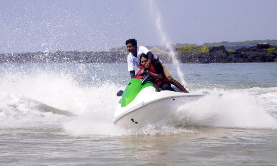 Experience A Jet Ski Ride In Malvan, India