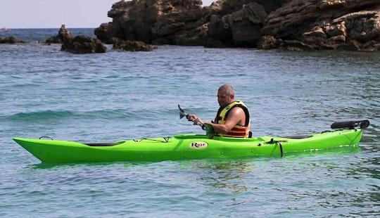 Enjoy Kayaking In Zakinthos, Greece