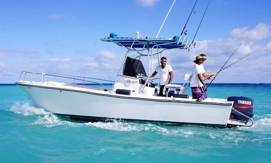 Enjoy Fishing In Punta Cana, Dominican Republic On Center Console
