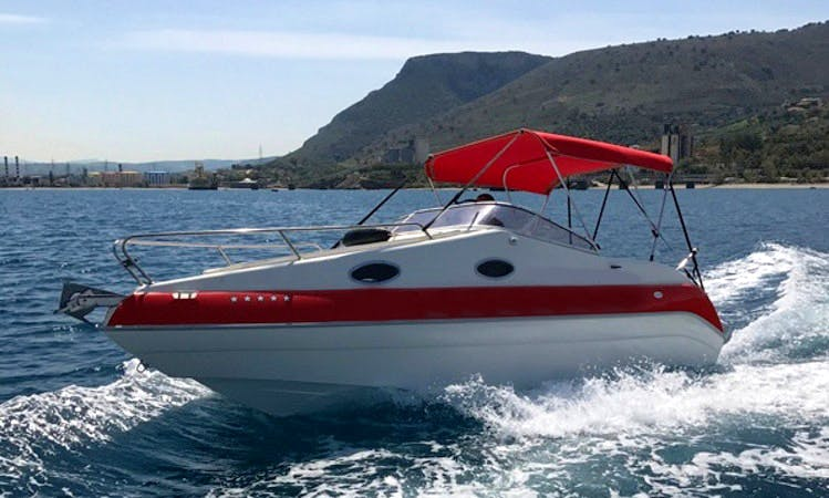 Rent 20' Aqua Mar Cuddy Cabin in Iraklio, Greece