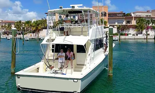 Enjoy Fishing In Punta Cana, Dominican Republic On 53' Viking Sport Fisherman