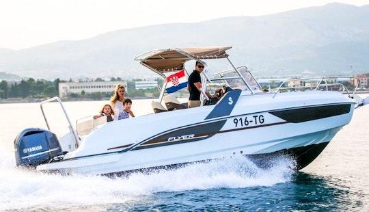 Boat Rental Trogir - Beneteau 7.7 Sundeck - Yamaha 300hp