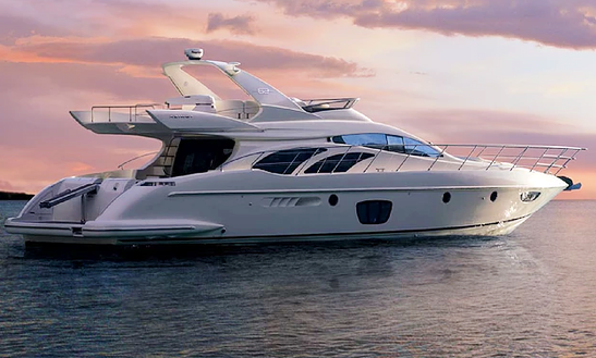 Charter 62' Azimut Power Mega Yacht In Limenas Chersonisou, Greece