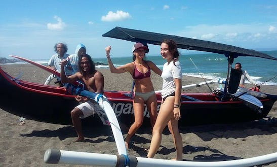 Enjoy With Friends On This 2 Person Traditional Boat In Mengwi, Bali