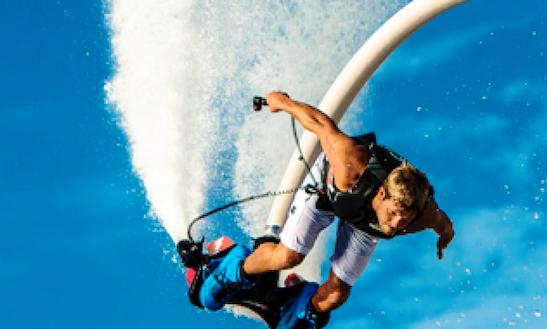 Fun Flyboarding In Dubai