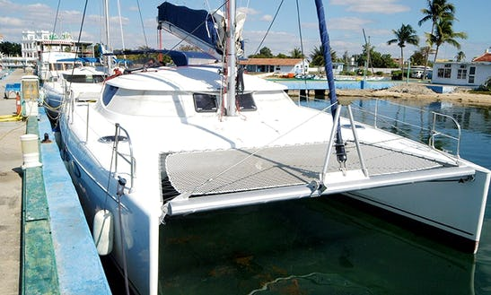Charter 40' Lavezzi Cruising Catamaran In Cienfuegos, Cuba