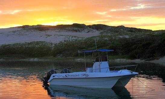 Enjoy Fishing In Vilanculos, Mozambique On 25' Spanish Fly Power Catamaran