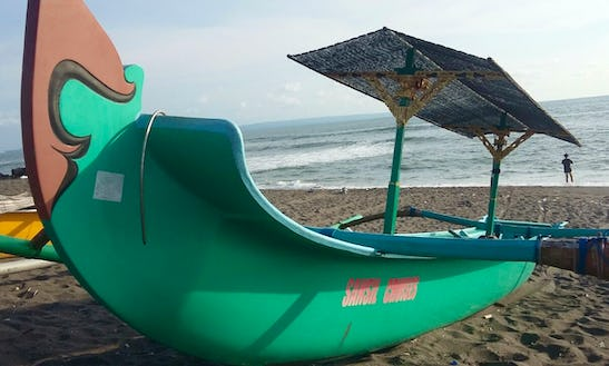 Charter A Sansh Traditional Boat In Mengwi, Bali