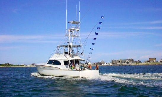 Fishing Charter On 57ft Sportfisher Yacht In Nags Head, North Carolina