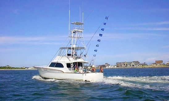 Fishing Charter On 57ft Sportfisher Yacht In Nags Head, North Carolina