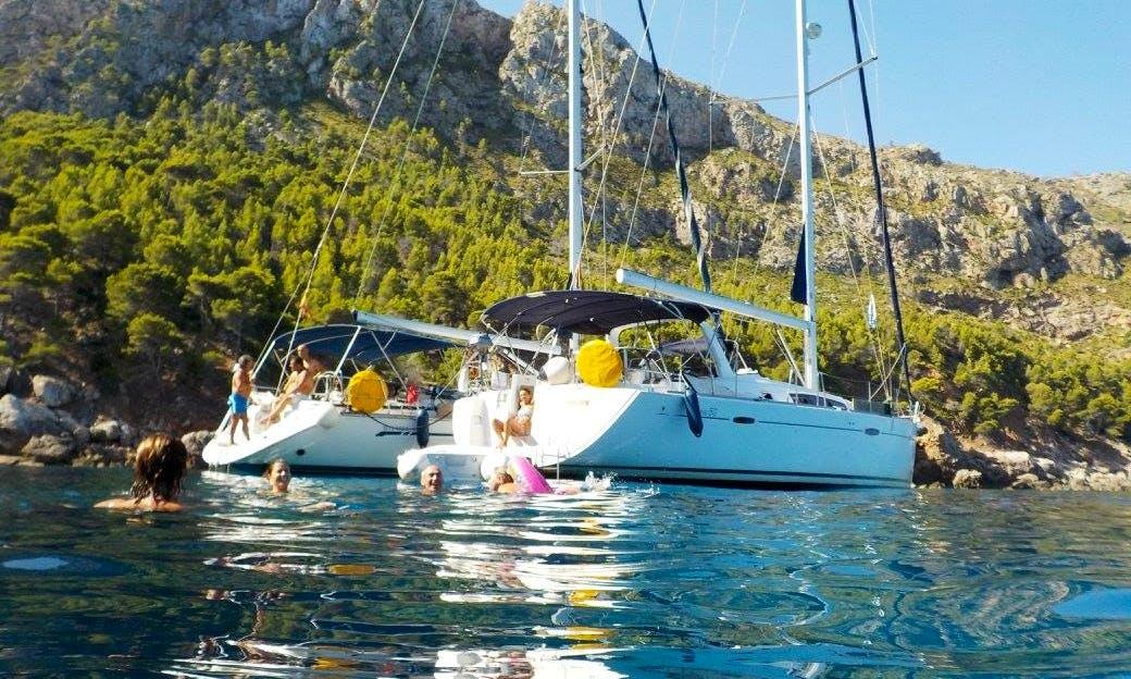 Have an amazing time in Palma, Balears on Sun Odyssey 509 Cruising Monohull