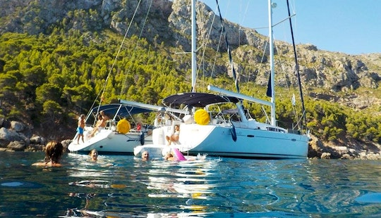 Have An Amazing Time In Palma, Balears On Sun Odyssey 509 Cruising Monohull