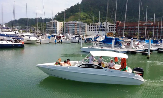 Cruise In Style On A Bowrider Charter In Angra Dos Reis, Brazil