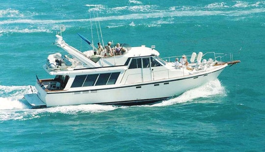 Charter 49ft Motor Yacht In Fort Lauderdale With Captain Ed