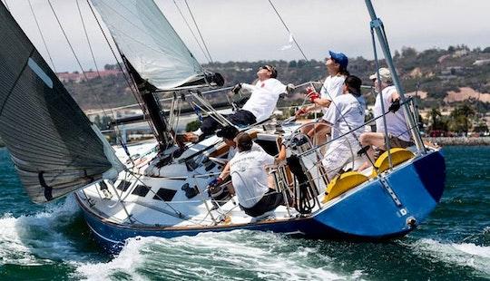 Enjoy The Ranger 37 Sailing Charter In San Diego, California