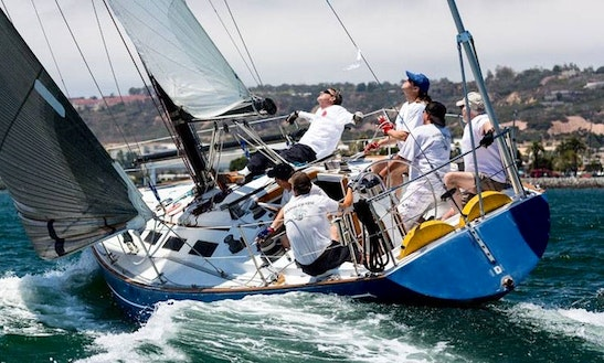 Enjoy The Ranger 37 Sailing Charter In San Diego, California