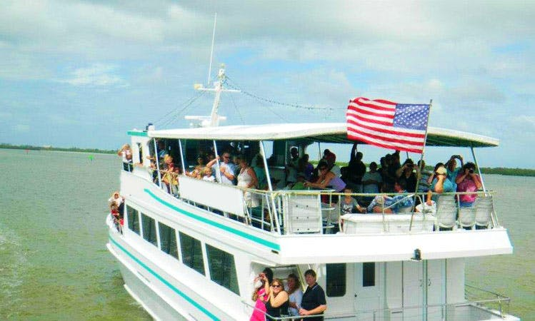 "Private Party Charter On 75ft ""Princess"" Passenger Boat In Fort Myers Beach, Florida"