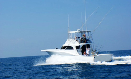 Fishing Charter On 62' Sport Fisherman Yacht In Morehead, North Carolina