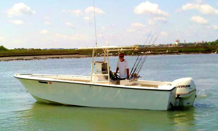 23ft Seacraft Center Console Boat Fishing Charter in St. Augustine, Florida