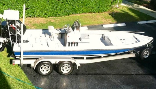 Enjoy 21 Ft Center Console Fishing Charters In Naples, Florida