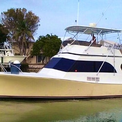 Fishing charter on 43ft calcutta boat in key largo for Key largo party boat fishing