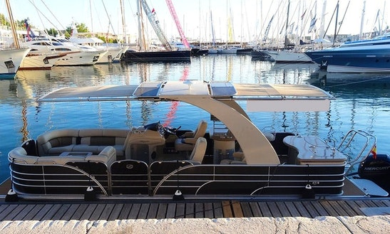 Luxury Pontoon Charter In Illes Balears