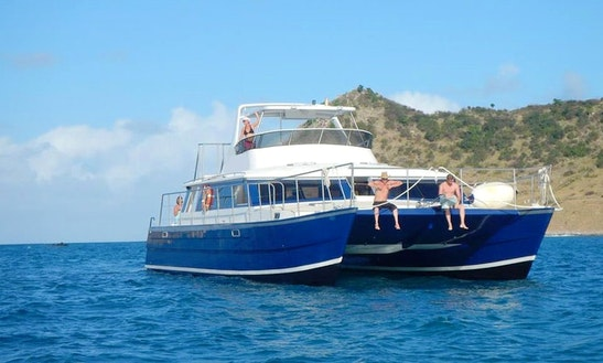 Power Catamaran Trips In Simpson Bay