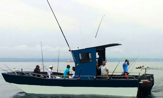 Ever Fished The Indian Ocean? Try It In Durban, South Africa On Center Console