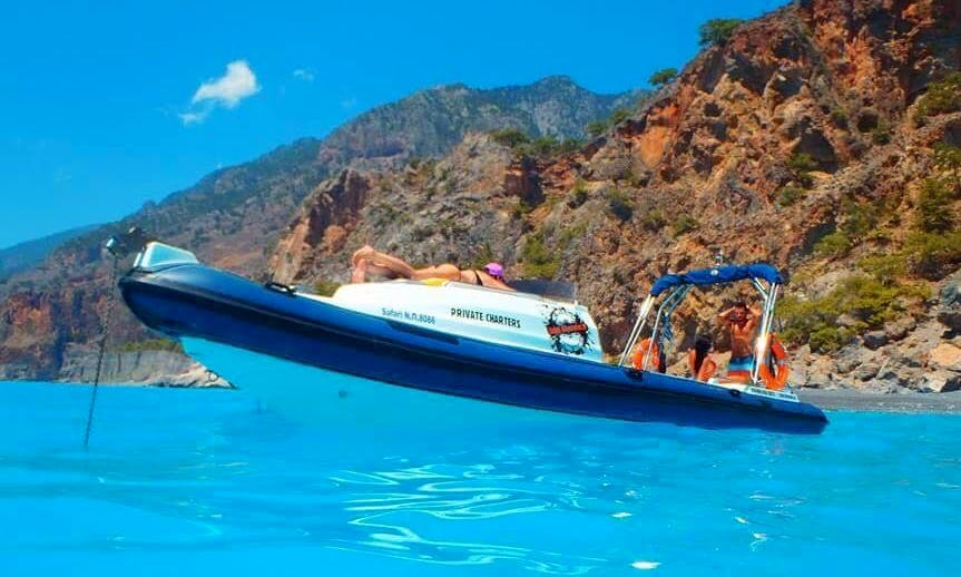 Charter 29' Revenger Rigid Inflatable Boat in Corfu, Greece