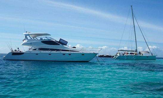 Charter 55ft Power Catamaran In Zanzibar, Tanzania