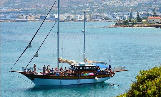 Charter 62' Gulet In Limenas Chersonisou, Greece
