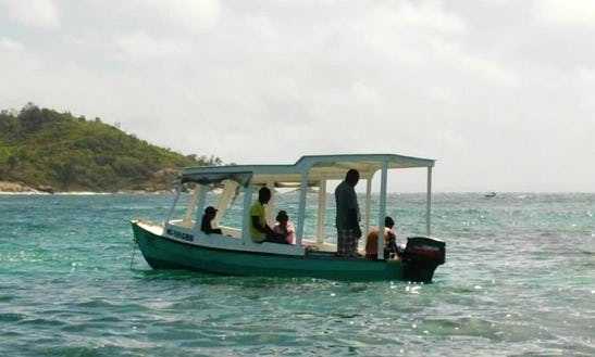 Charter A Glass Bottom Boat In Victoria, Seychelles