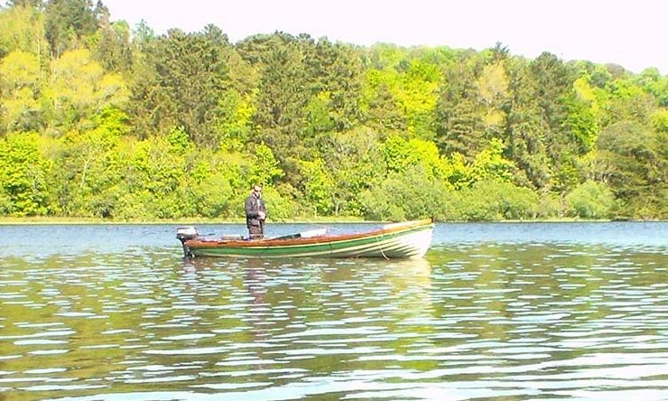 Go Fishing in County Sligo, Ireland on a 2 Persons Dinghy
